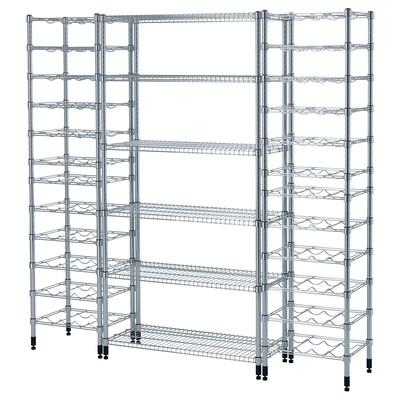 OMAR 3 shelf sections 187 cm 36 cm 181 cm