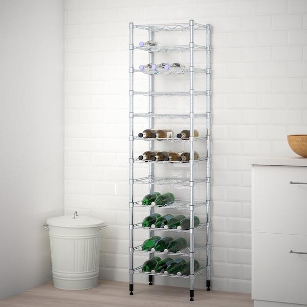OMAR bottle shelf 46 cm 36 cm 181 cm