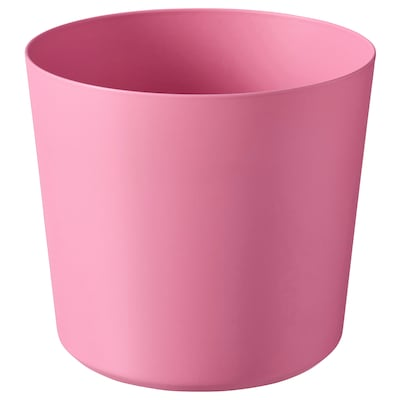 OMFÅNG Plant pot, in/outdoor/pink, 9 cm