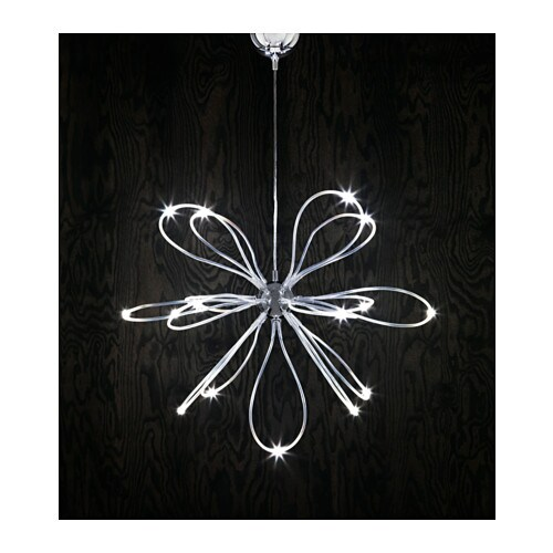 ONSJ u00d6 LED chandelier Chrome plated   IKEA -> Lampadari Moderni Linea Light