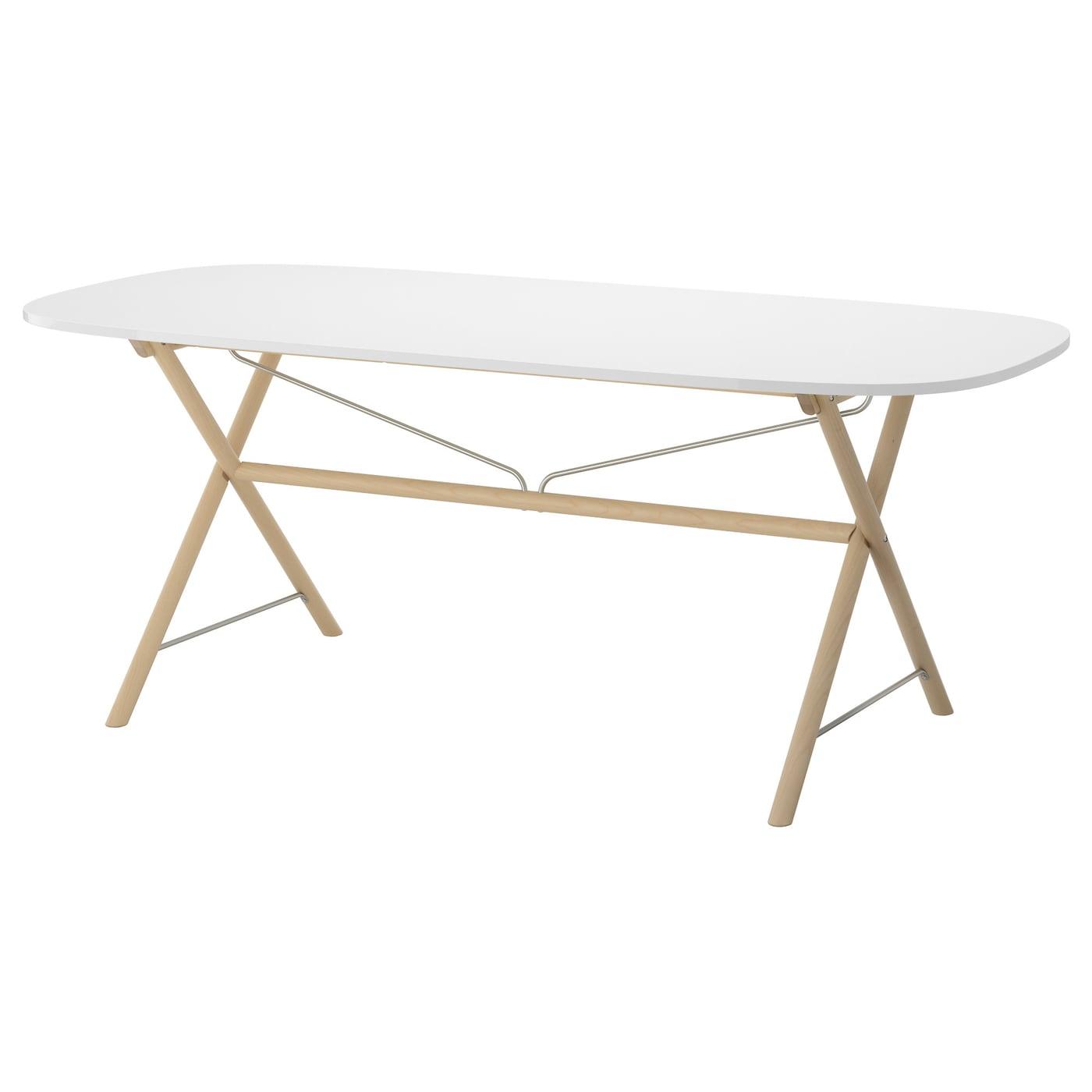 OPPEBY Table Whitedalshult birch 185x90 cm IKEA : oppeby table white dalshult birch0436766pe590353s5 from www.ikea.com size 2000 x 2000 jpeg 142kB
