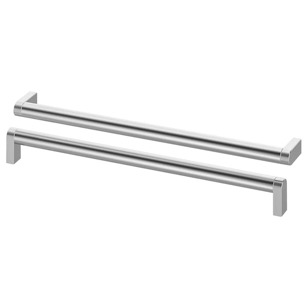ORRNÄS Handle, stainless steel colour, 330 mm