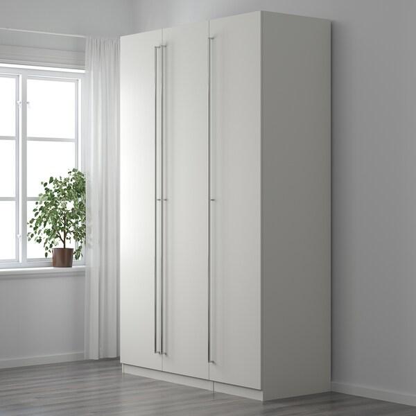 ORRNÄS Handle, stainless steel colour, 206 cm