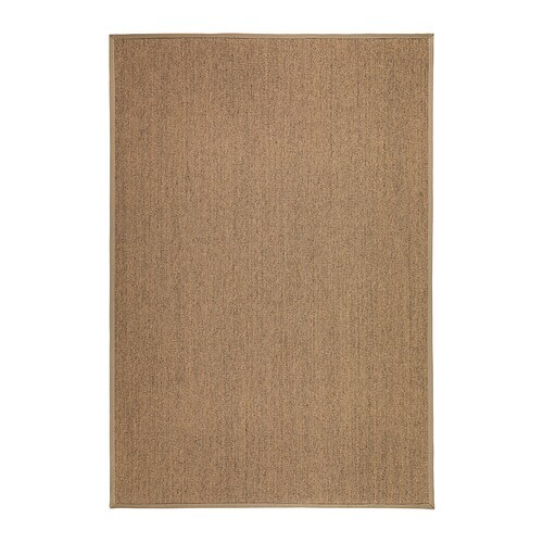 IKEA OSTED rug, flatwoven Polyester edging makes the rug extra durable and strong.