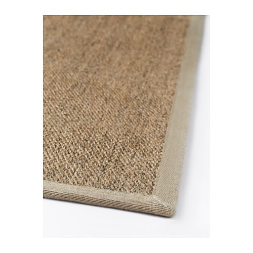 IKEA OSTED rug, flatwoven Polyester edging makes the rug