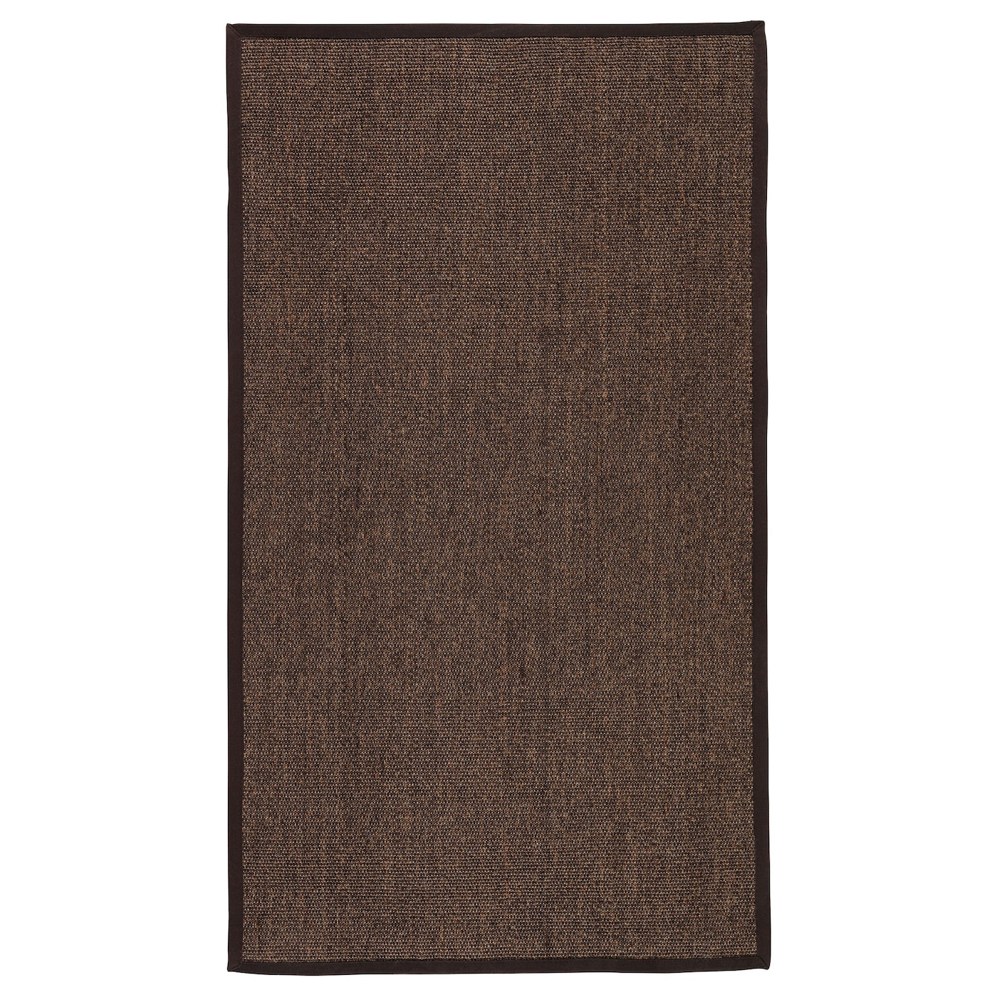 Osted rug flatwoven brown 80x140 cm ikea for Ikea rugs