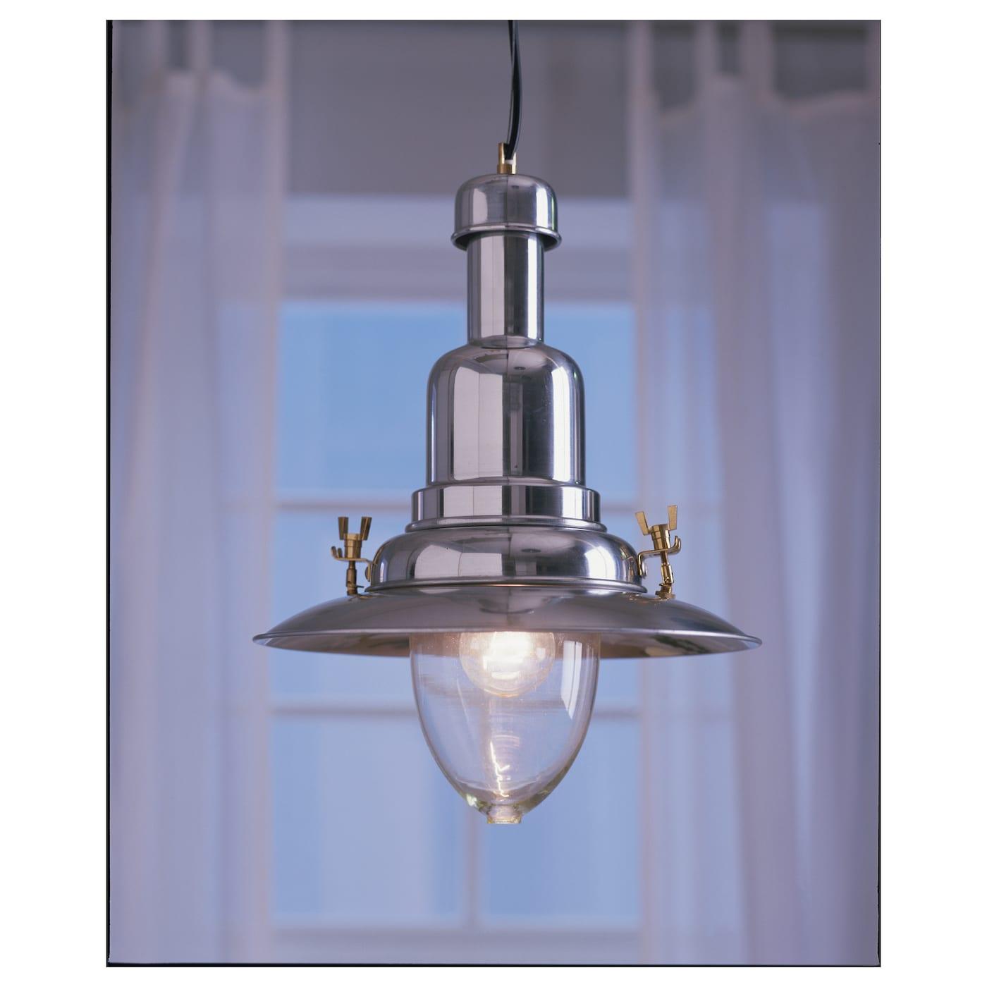 Kitchen Light Fittings Ikea: OTTAVA Pendant Lamp Aluminium