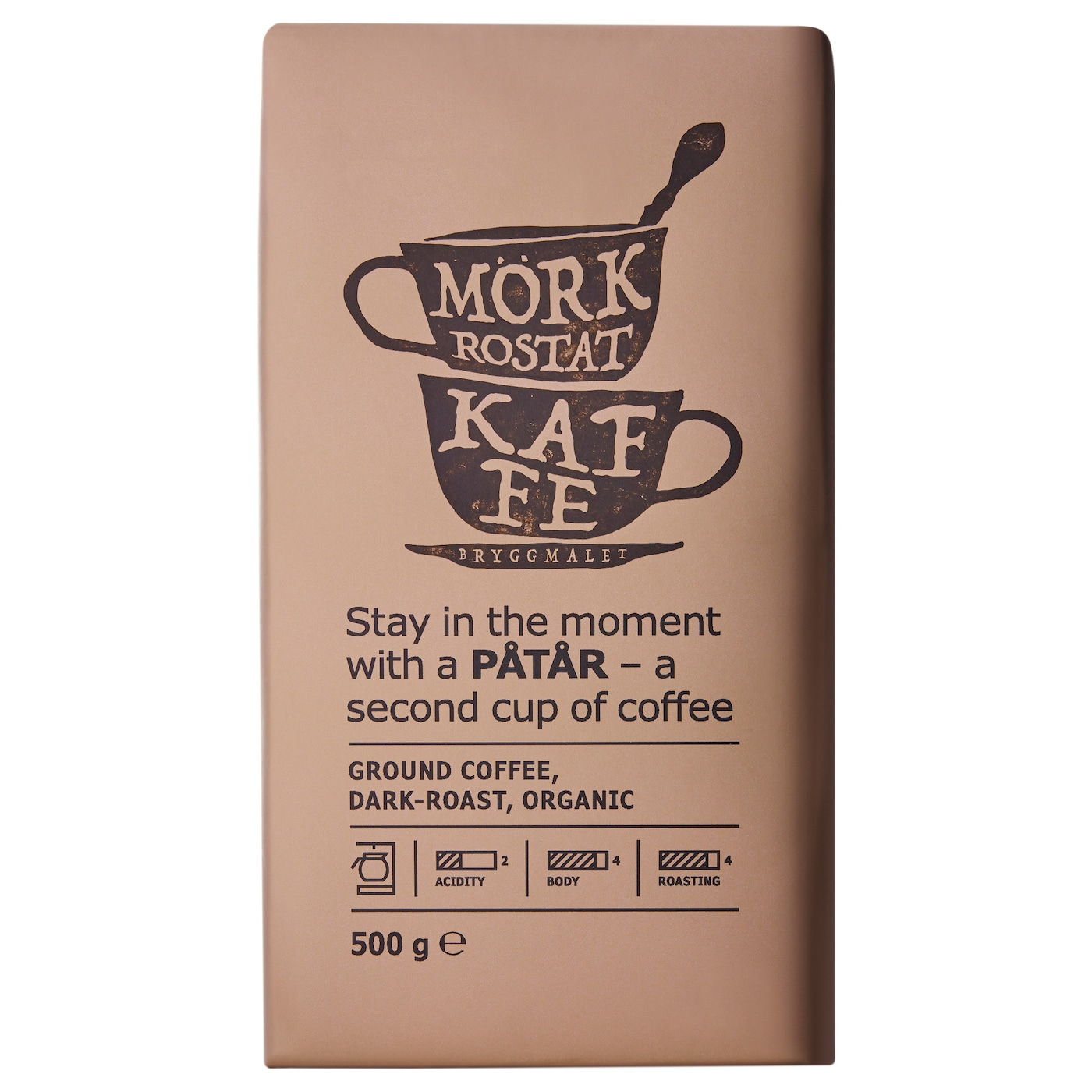 IKEA PÅTÅR filter coffee, dark roast