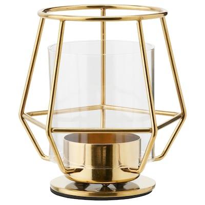 PÄRLBAND Tealight holder, 10 cm