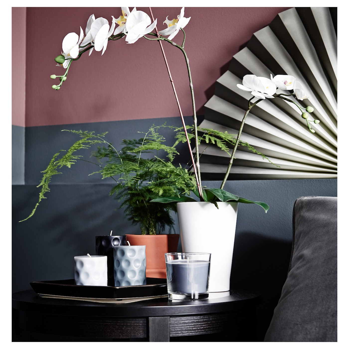 IKEA PAPAJA plant pot The shape and height of the pot make it suitable for orchids.