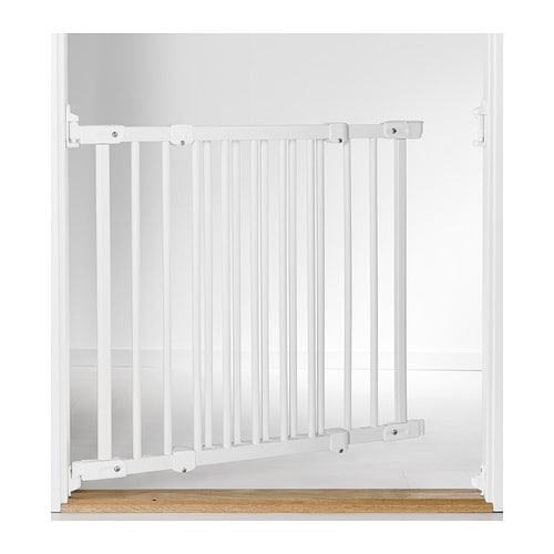 Ikea Bett Ohne Mittelbalken ~ IKEA PATRULL FAST safety gate The gate opens both inwards and outwards