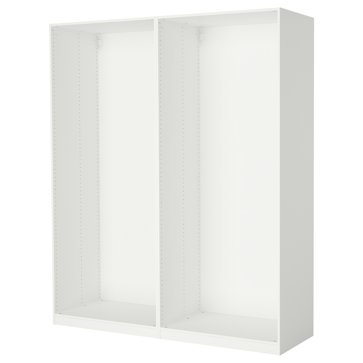 pax 2 wardrobe frames white 200 x 58 x 236 cm ikea. Black Bedroom Furniture Sets. Home Design Ideas