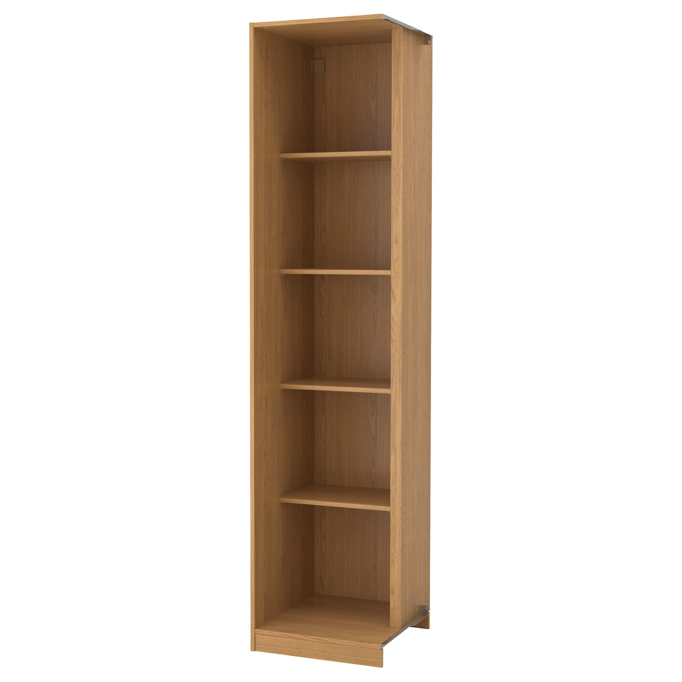 IKEA PAX add-on corner unit with 4 shelves