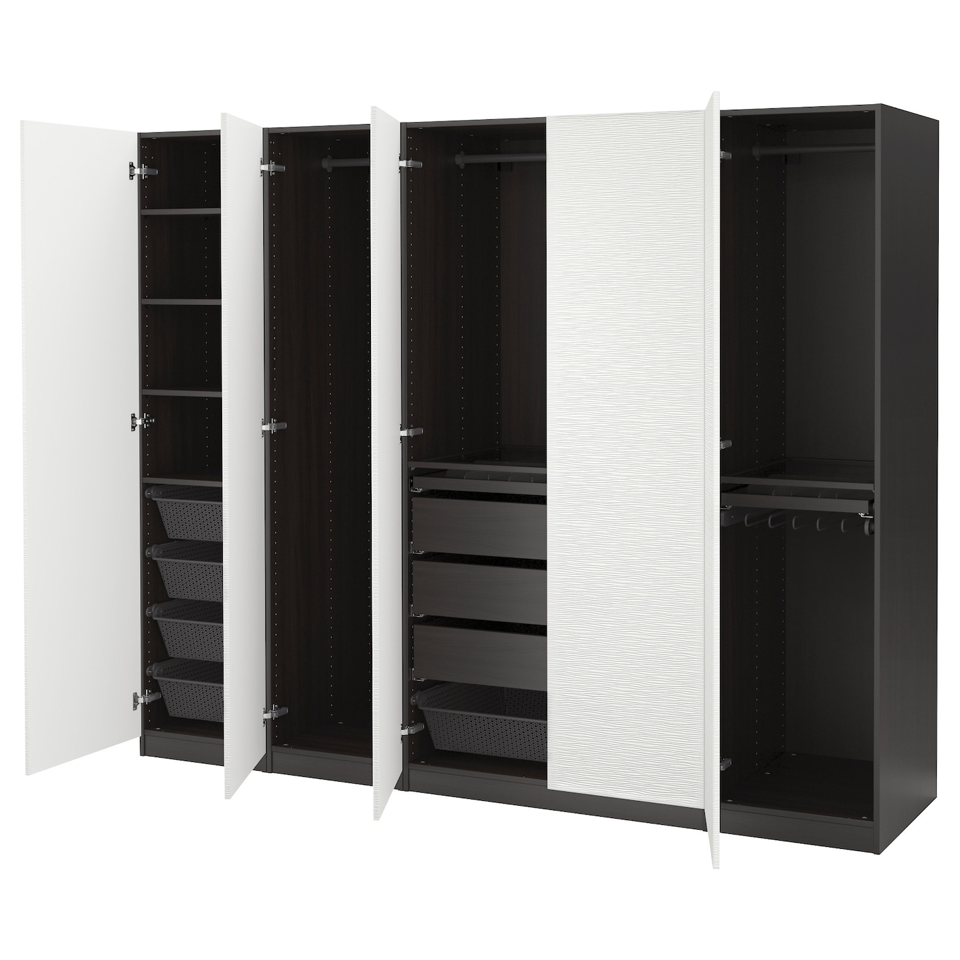 Ikea pax türen vinterbro  PAX Wardrobes | Design your own wardrobe at IKEA