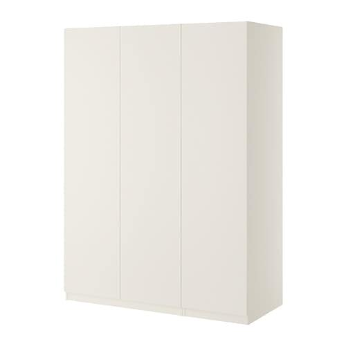 pax wardrobe white ballstad white 150x60x201 cm ikea. Black Bedroom Furniture Sets. Home Design Ideas