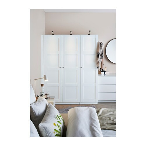 pax wardrobe white bergsbo white 150x60x201 cm ikea. Black Bedroom Furniture Sets. Home Design Ideas