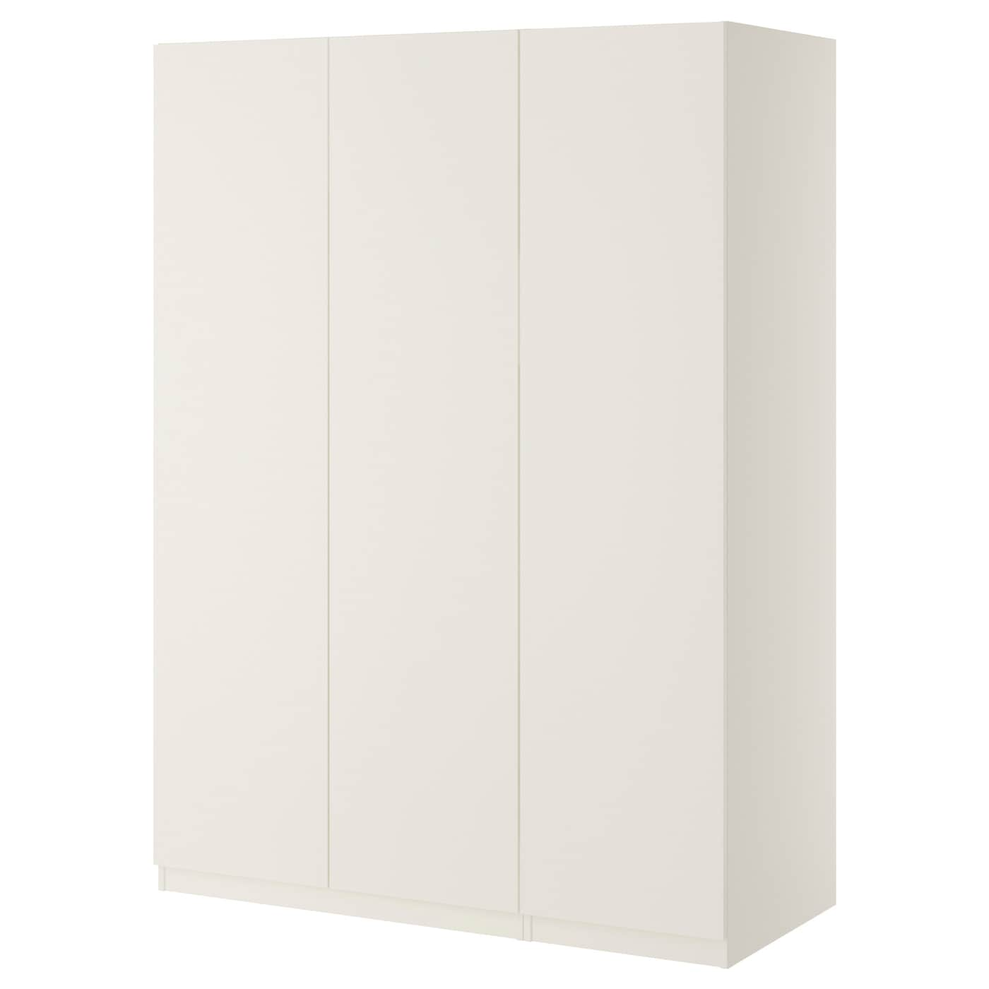pax wardrobe white ballstad white 150x60x201 cm ikea. Black Bedroom Furniture Sets. Home Design Ideas