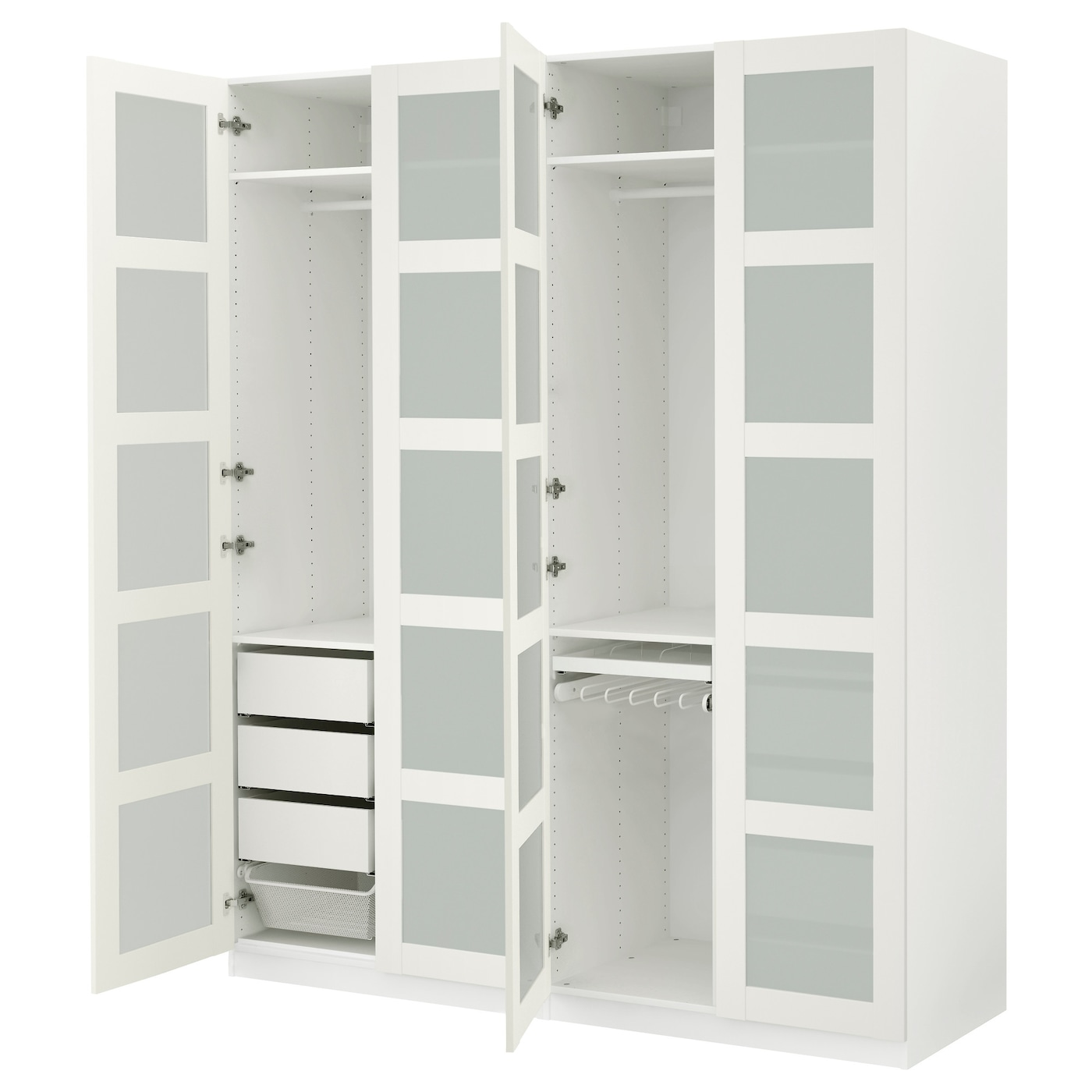 Pax wardrobes design your own wardrobe at ikea - Armoire ikea porte coulissante miroir ...