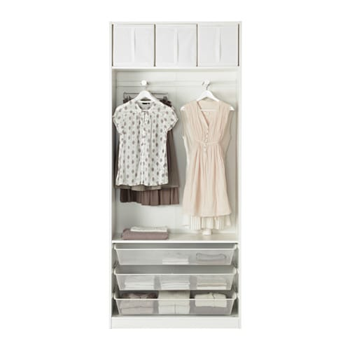 IKEA PAX wardrobe 10 year guarantee. Read about the terms in the guarantee brochure.