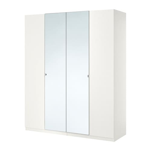pax wardrobe white tanem vikedal 200x60x236 cm ikea. Black Bedroom Furniture Sets. Home Design Ideas