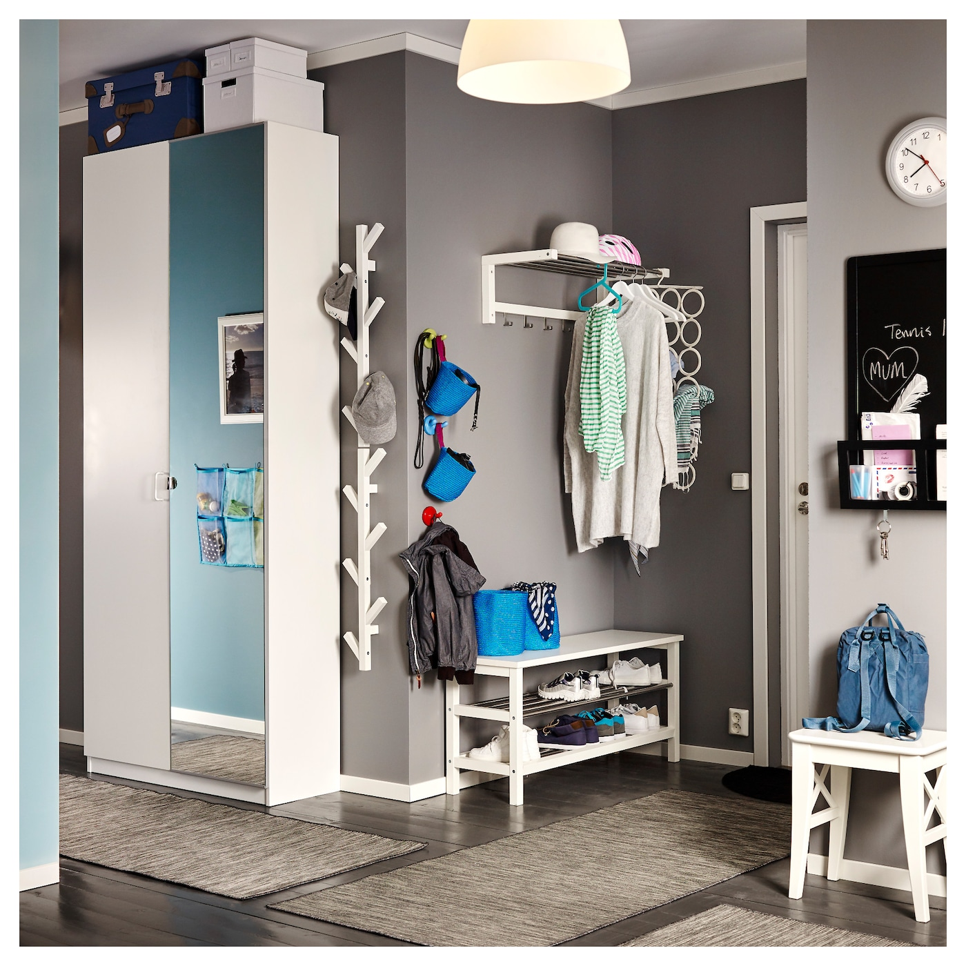 PAX Wardrobe White tanem vikedal 100x38x236 cm IKEA