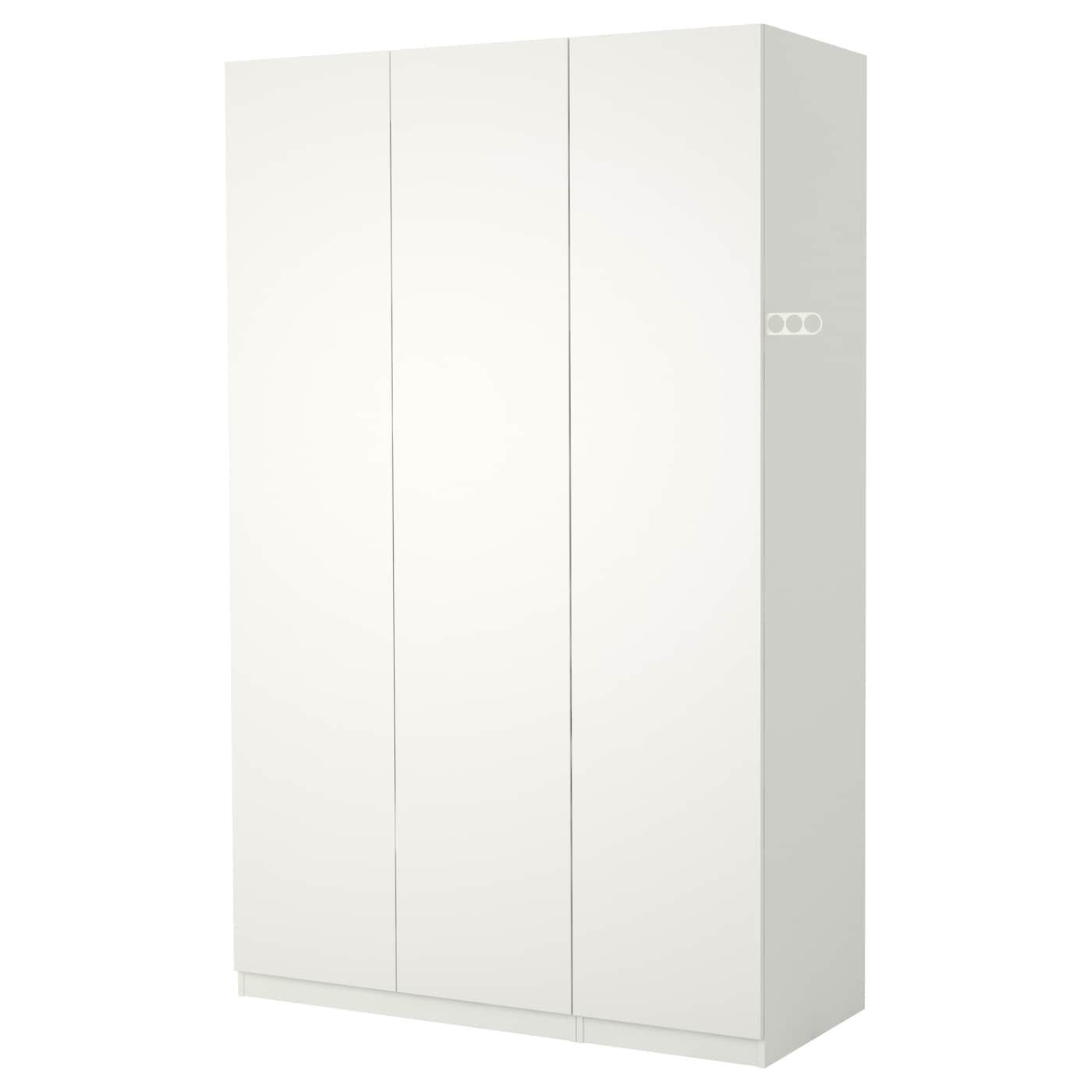 pax wardrobe white tanem white 150x60x201 cm ikea. Black Bedroom Furniture Sets. Home Design Ideas