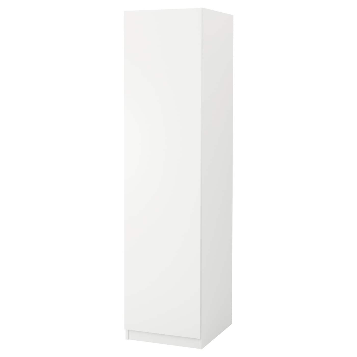pax wardrobe white tanem white 50x60x201 cm ikea. Black Bedroom Furniture Sets. Home Design Ideas