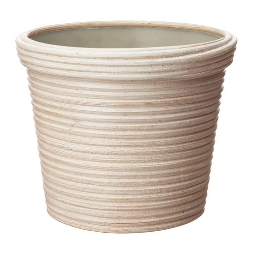 IKEA PEKANNÖT plant pot A plastic inner pot makes the plant pot waterproof.