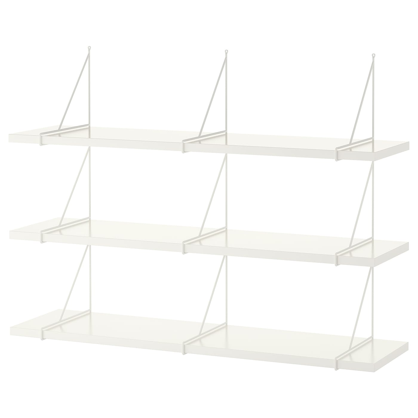 IKEA PERSHULT/BERGSHULT wall shelf combination