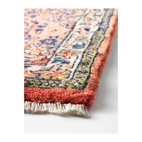 Persisk Hamadan Rug Low Pile Assorted Patterns 80x200 Cm