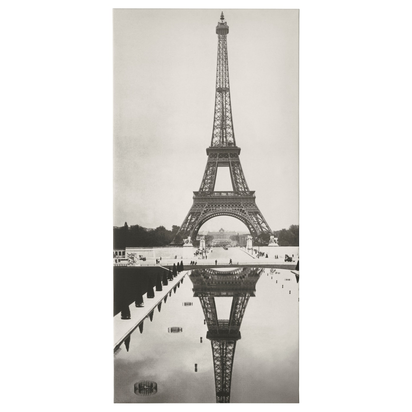 Pj tteryd picture paris 1935 56x120 cm ikea for Ikea parati