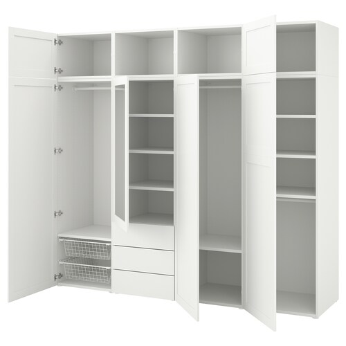 IKEA PLATSA Wardrobe with 7 doors+3 drawers
