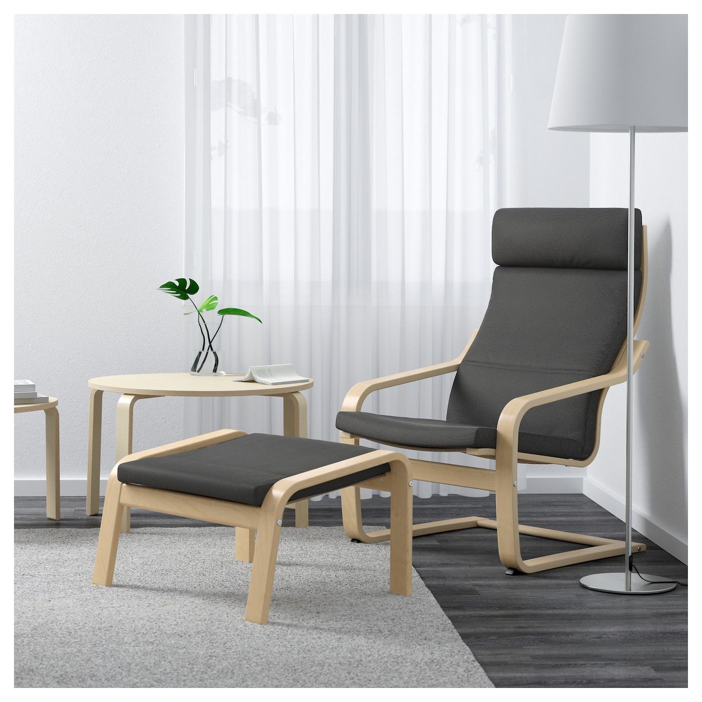 Uncategorized Poang Footstool footstool birch veneerfinnsta grey ikea layer glued bent beech frame gives comfortable resilience