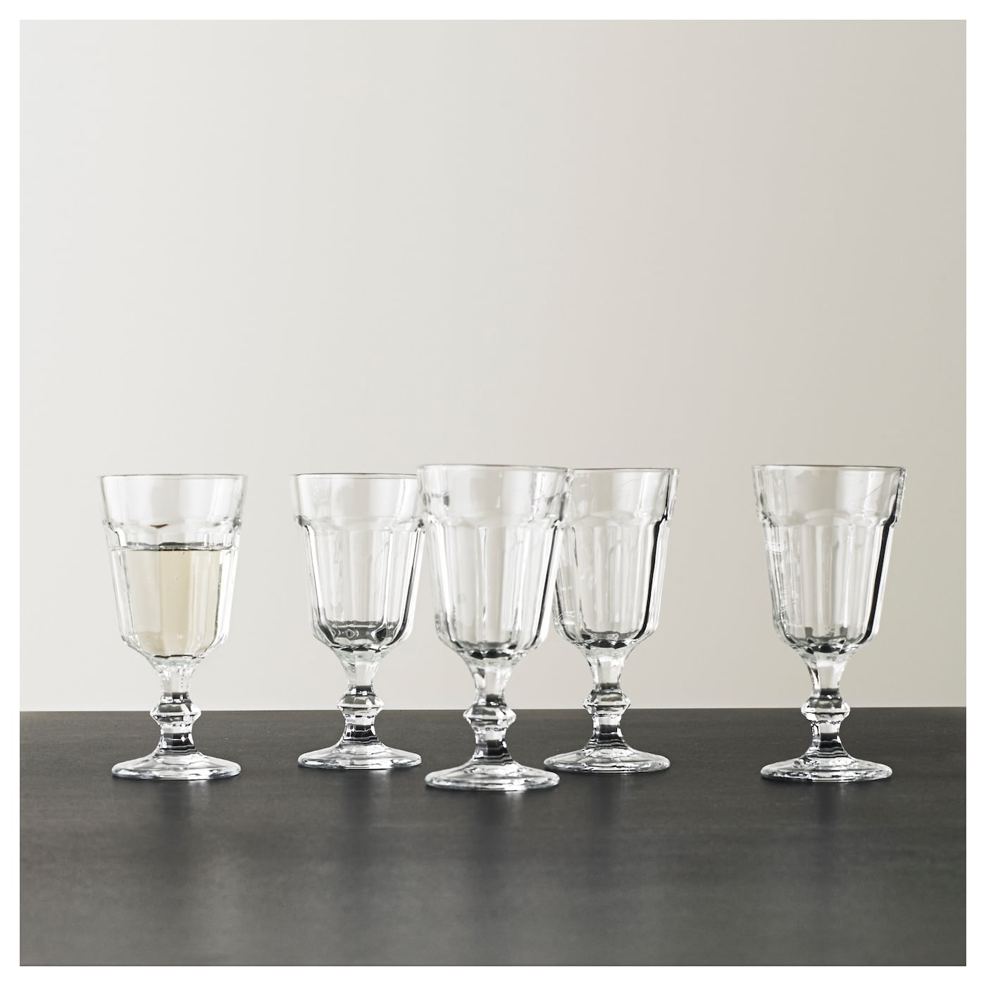 IKEA POKAL wine glass