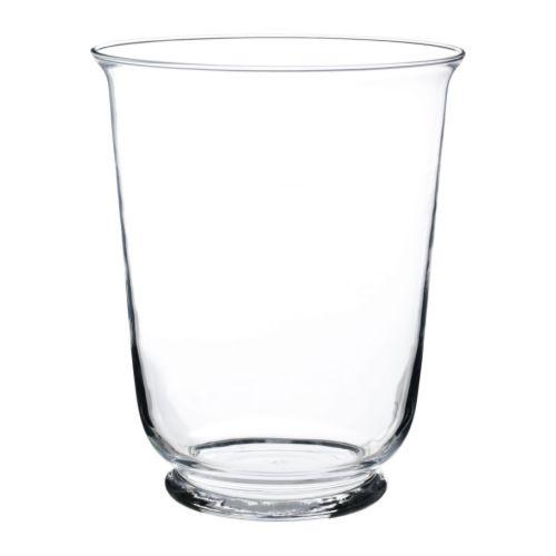 Pomp Vaselantern Clear Glass 28 Cm Ikea