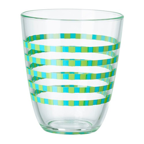 IKEA POPPIG glass