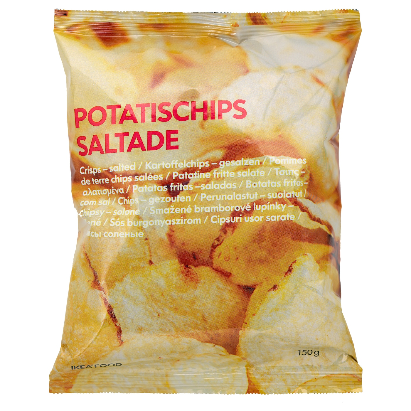 IKEA POTATISCHIPS SALTADE salted potato crisps