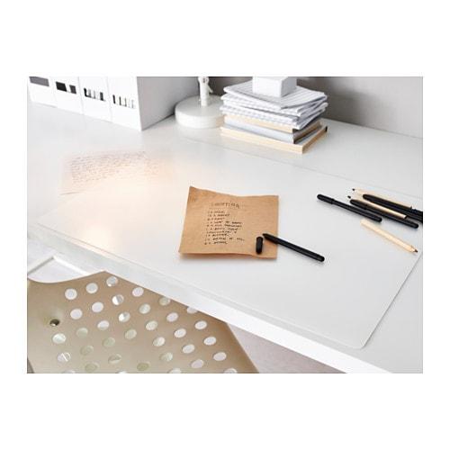 Pr js desk pad transparent 65x45 cm ikea - Cubre escritorio ...