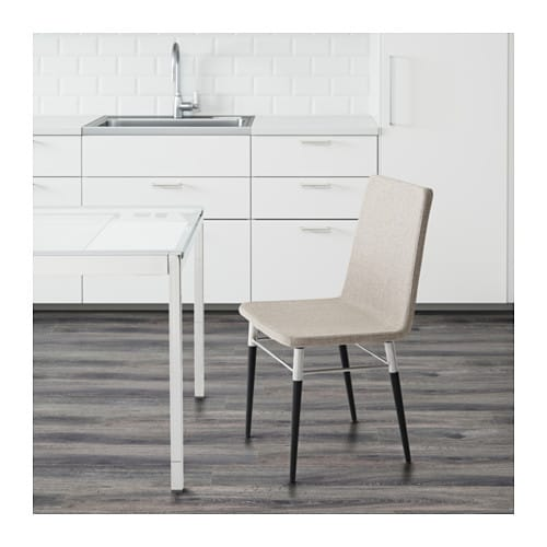 IKEA PREBEN chair You sit comfortably thanks to the padded seat.