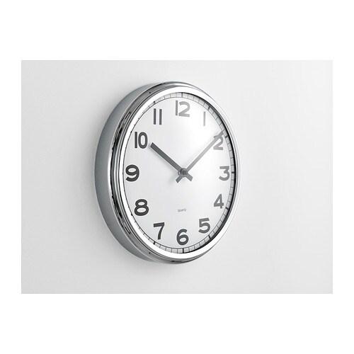 ikea pugg wall clock. Black Bedroom Furniture Sets. Home Design Ideas
