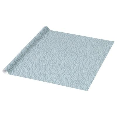 PURKEN Gift wrap roll, blue/mixed patterns, 3.0x0.7 m
