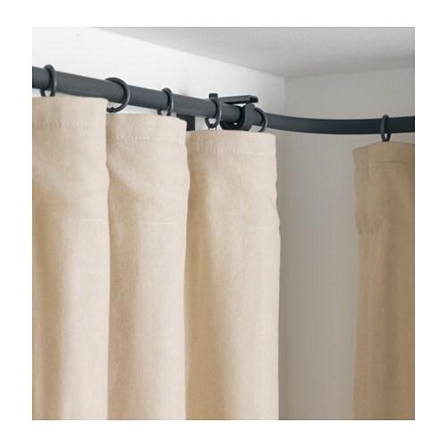 RÄCKA Curtain rod corner connector Silver-colour - IKEA