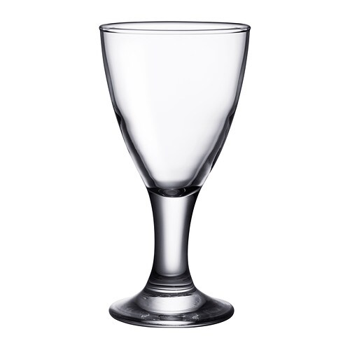 IKEA RÄTTVIK white wine glass