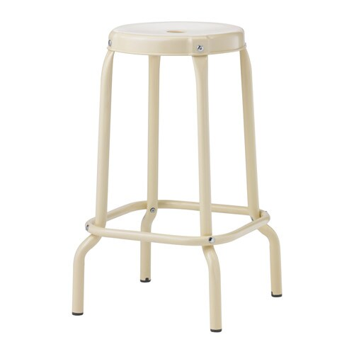 IKEA RÅSKOG bar stool Easy to move thanks to the hole in the seat.