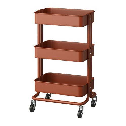 IKEA RÅSKOG trolley Perfect as extra storage in your kitchen, hall, bedroom or home office.