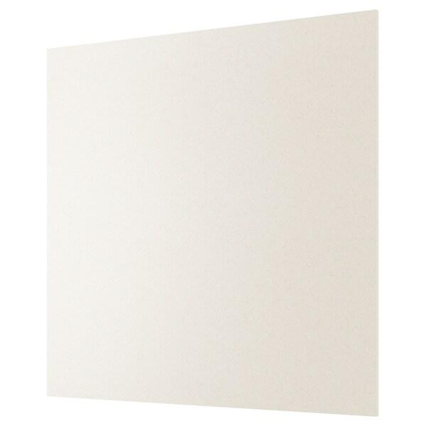 RÅHULT custom made wall panel white mineral effect/quartz 10 cm 300 cm 10 cm 120 cm 1.2 cm 1 m²