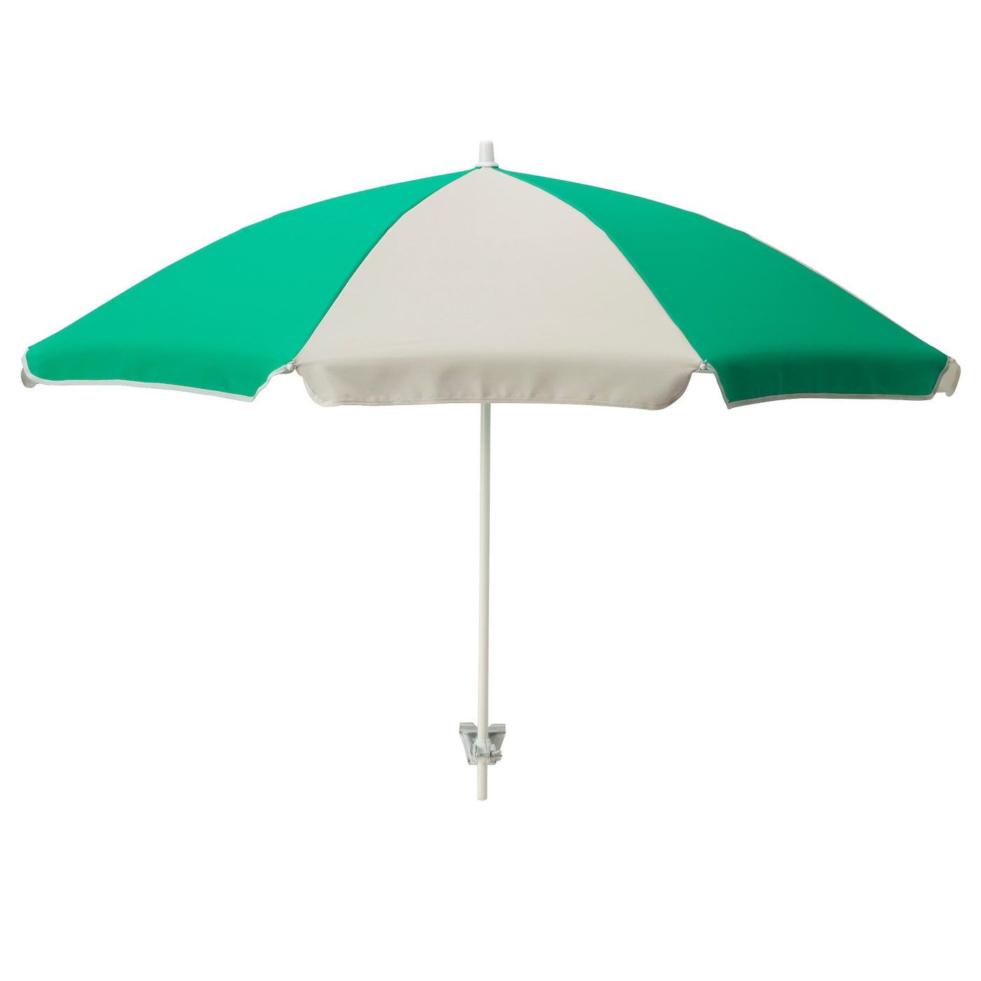 IKEA RAMSÖ parasol Easy to attach and move as it has a screw socket.