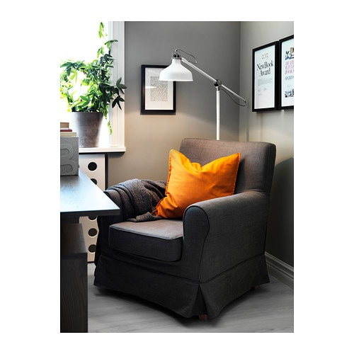 RANARP Floor reading lamp Off white  IKEA
