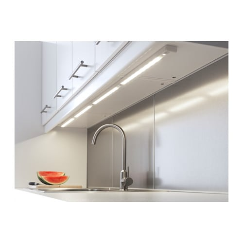 RATIONELL LED worktop lighting Aluminium-colour 60 cm - IKEA