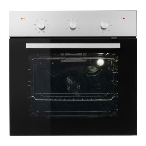 IKEA REALISTISK pyrolytic oven 5 year guarantee. Read about the terms in the guarantee brochure.
